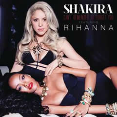 Cover of Shakira and Rihanna