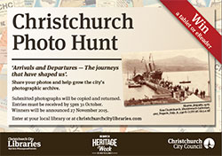 Christchurch Photo Hunt postcards