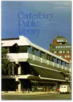 Cover of Canterbury Public Library