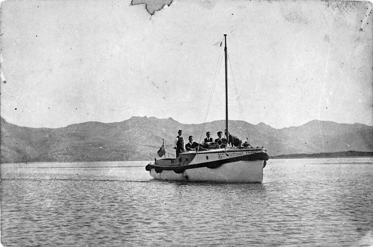 The Nautilus on the Avon-Heathcote Estuary in the 1920s [ca. 1920] File Reference CCL Photo Collection 22, Img00080