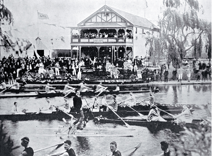 Regatta Day on the Avon [ca. 1921]