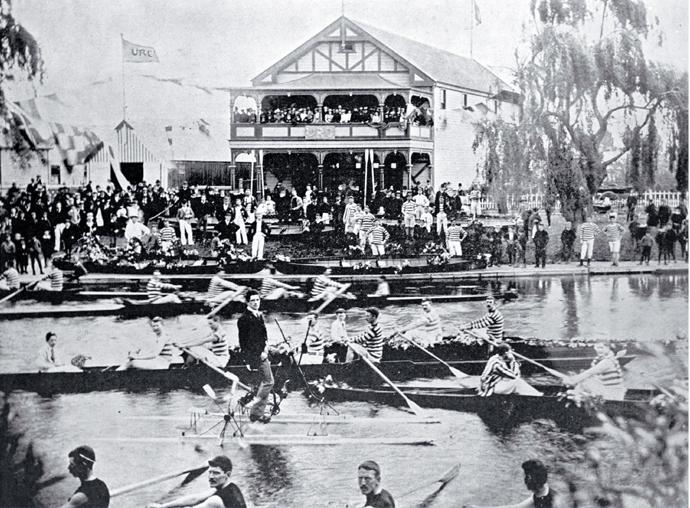 Photo of Regatta Day on the Avon [ca. 1921]