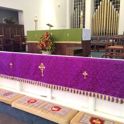 Hanging Chair Christchurch Swing Lahore Dedication Of Altar Frontals And Pulpit Hangings The