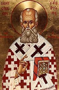 St Gregory of Nazianzus