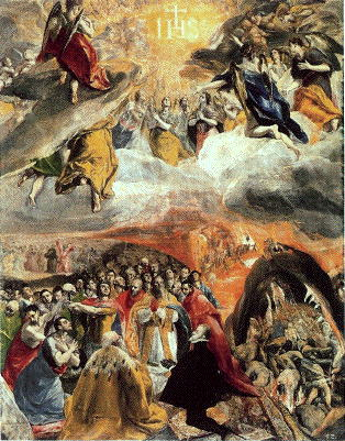 El Greco, Adoration of the Name of Christ