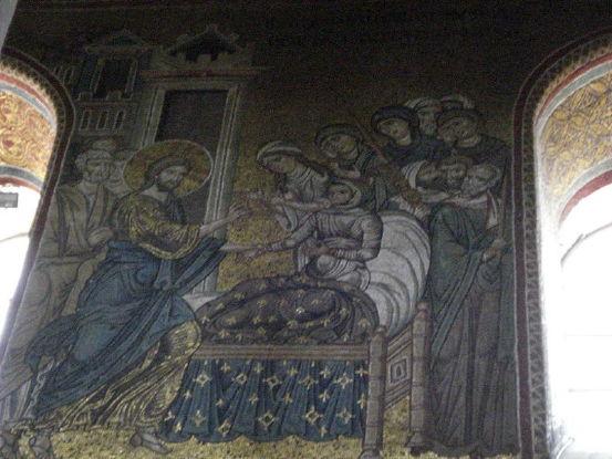 Christ raises son of widow of Nain