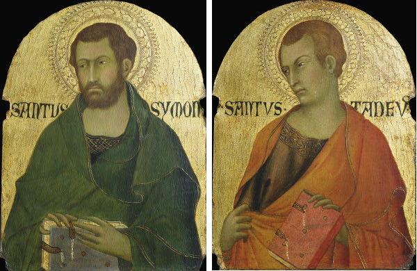 Workshop of Simone Martini, Saint Simon and Saint Jude Thaddeus