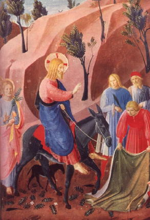 Fra Angelico, Entry Into Jerusalem