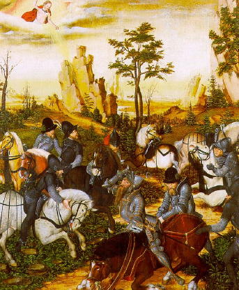 Cranach the Younger, Conversion of St Paul