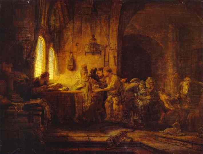Rembrandt, The Parable of the Labourers in the Vineyard