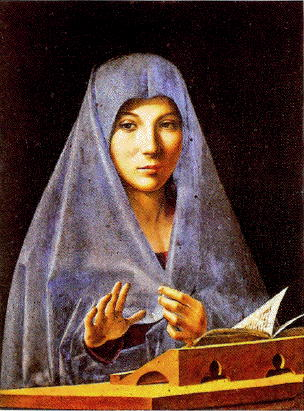 Antonello, Virgin Annunciate