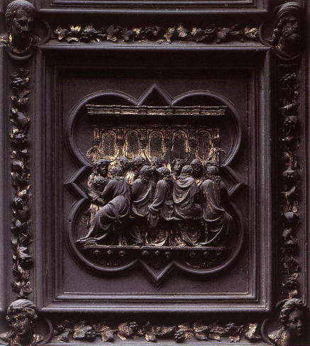 Ghiberti, Last Supper