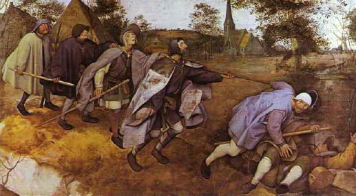 Bruegel the Elder, Blind Leading the Blind