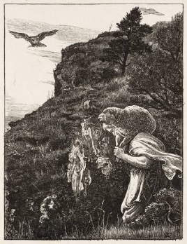 Millais, The Lost Sheep