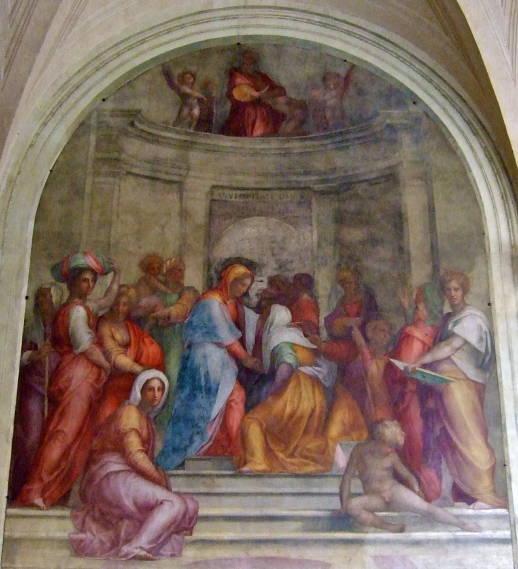 Pontormo, Visitation 1516