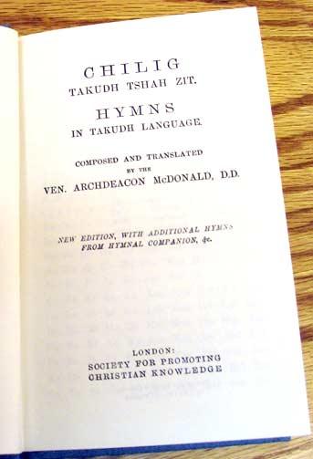 McDonald, Tukudh Hymnal