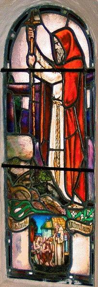 Saint Margaret's Chapel, Saint Ninian window