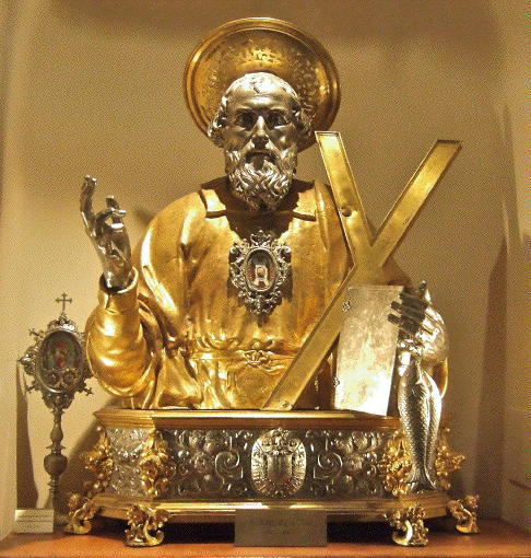 Amalfi Cathedral, Reliquary of St Andrew