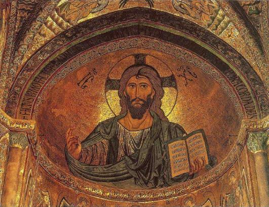 Christ Pantocrator, Cefalu Cathedral