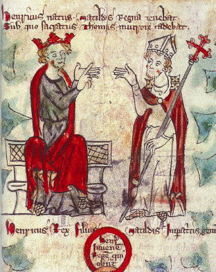 King Henry II and Saint Thomas Becket