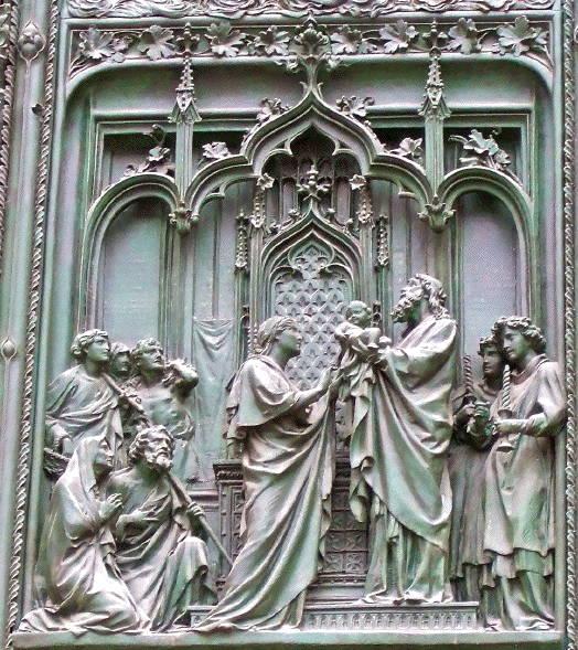 Pogliaghi, Milan Cathedral, Presentation