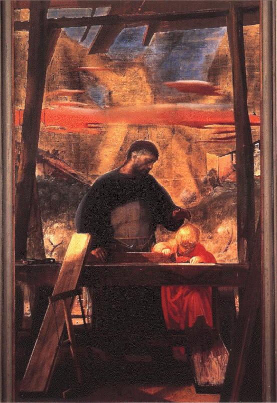 Annigoni, St. Joseph & Christ Child