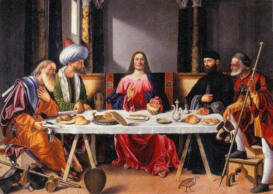Carpaccio, Supper at Emmaus