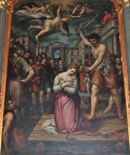 Corte, Martyrdom of St Margaret