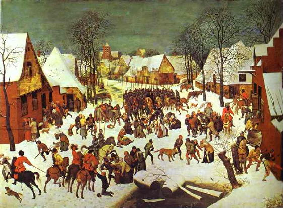 Bruegel, Massacre of the Innocents