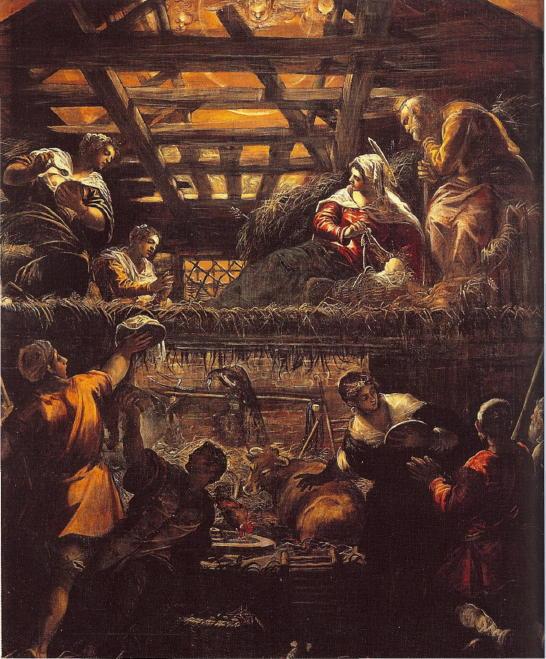 Tintoretto, Adoration of the Shepherds