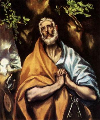 El Greco, St Peter in Penitence