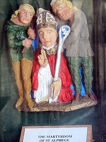 Martyrdom of St Alphege