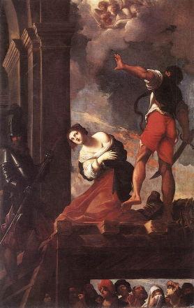 Ludovico Carracci, Martyrdom of St. Margaret