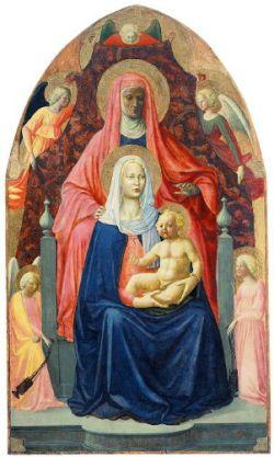 Masaccio, Madonna and Child with St. Anne
