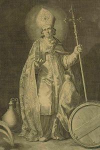 Cornelis Bloemaert, Holy Willibrord
