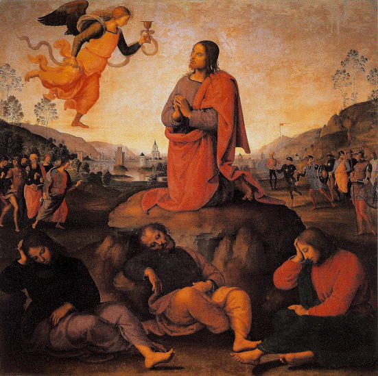 Perugino, Prayer in the Garden