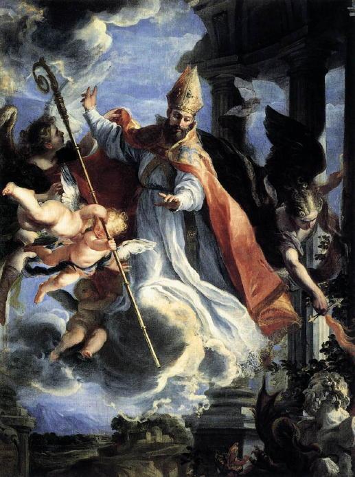 Coello, Triumph of St. Augustine