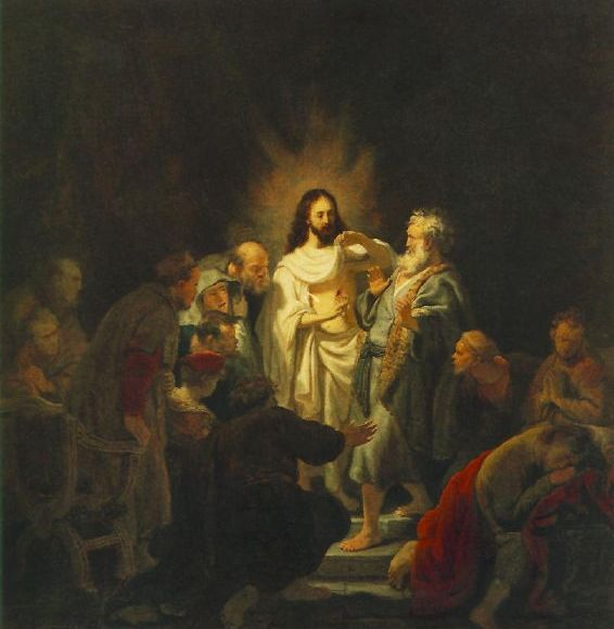 Rembrandt, Incredulity of St. Thomas