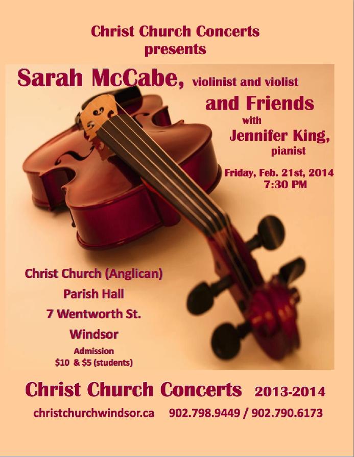 McCabe Concert Poster 20140221
