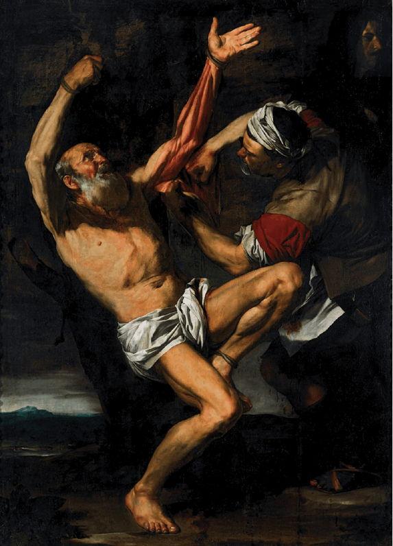 Ribera, Martyrdom of St. Bartholomew, 1619