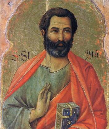 Duccio, Apostle Simon