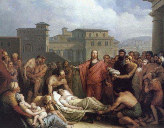 van Bree, Christ Healing a Patient