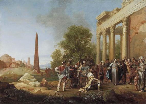 Bartholomeus Breenbergh, Christ and the Nobleman of Capernaum
