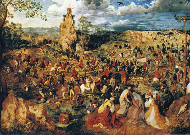 Pieter Bruegel the Elder, The Procession to Calvary