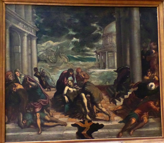 Tintoretto, St. Mark's Body Taken Away by Christians