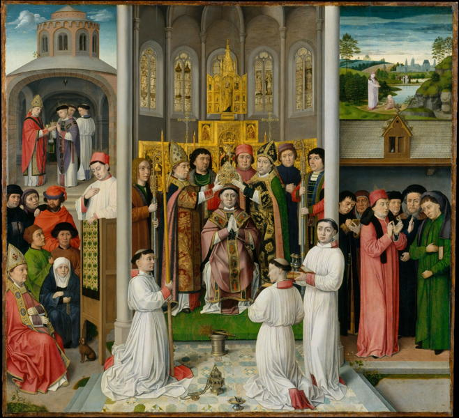 Master of St. Augustine, Scenes from the Life of St. Augustine