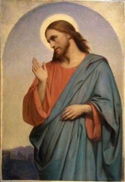 Scheffer, Jesus Weeping Over Jerusalem