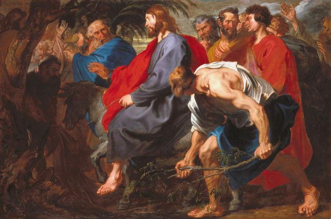 Van Dyck, Entry of Christ into Jerusalem
