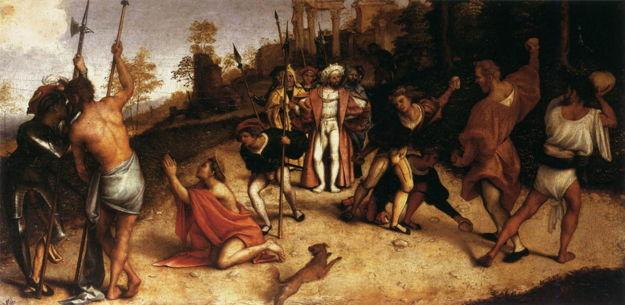 Lorenzo Lotto, Martyrdom of St. Stephen