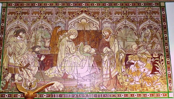 St. Paul's Knightsbridge, The Word Made Flesh